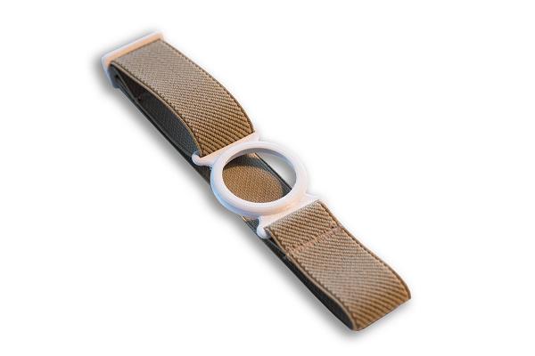 Freestyle Libre Fixierhalterung Ring (weiß) - 1 Stück, beige, Gr. M