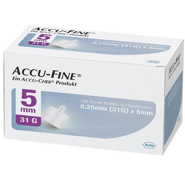 Accu-Chek Accu-Fine Pennadeln 5mm PZN 12772541