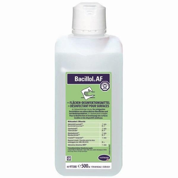Bacillol AF Lösung 500 ml PZN 00182662