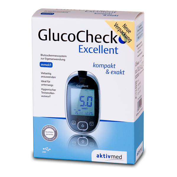 GlucoCheck Excellent 09483566