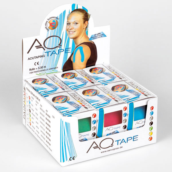 AQ Tape Kinesiologie Band 5 cm x 5,5 m