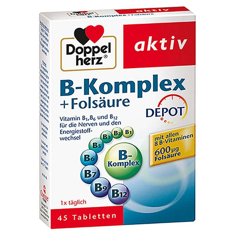 Doppelherz B-Komplex + Folsäure