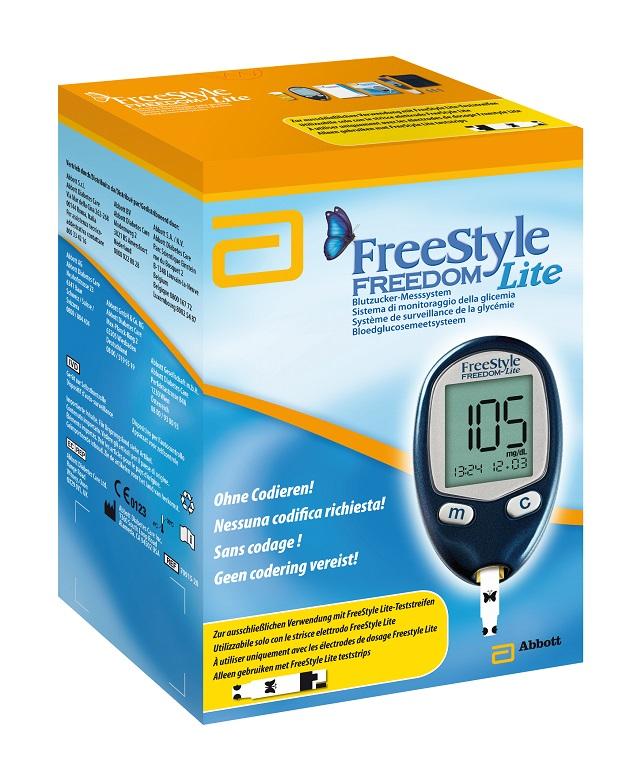 FreeStyle Freedom Lite Blutzuckermessgerät, 1 Stück