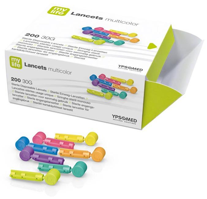 mylife Lancets multicolor 30G PZN 08456722