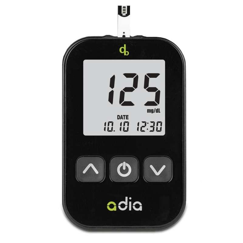adia Starter-Set mit 110 Blutzuckerteststreifen