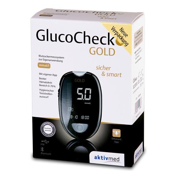 GlucoCheck GOLD mmol/l PZN 11864896