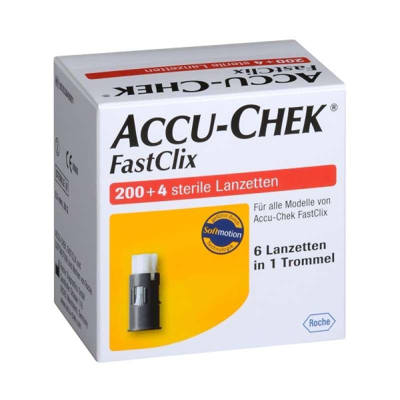 Accu-Chek Fastclix Lanzetten, 204 Stück