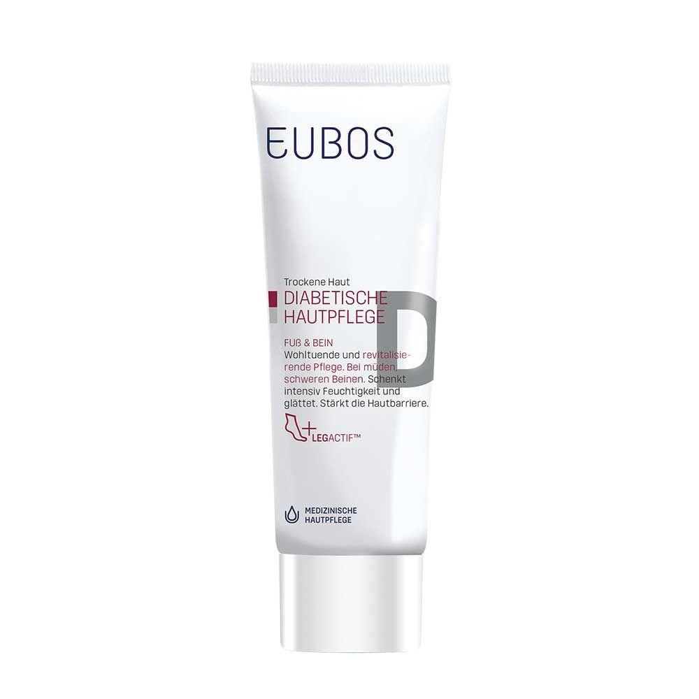 Eubos Diabetische Pflege Fuß + Bein Creme, 100 ml
