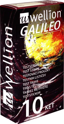 12470194 Galileo Ketone Teststreifen 10 Stück