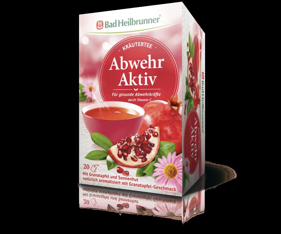 Bad Heilbrunner Kräutertee Abwehr Aktiv 20 Filterbeutel PZN 09782056