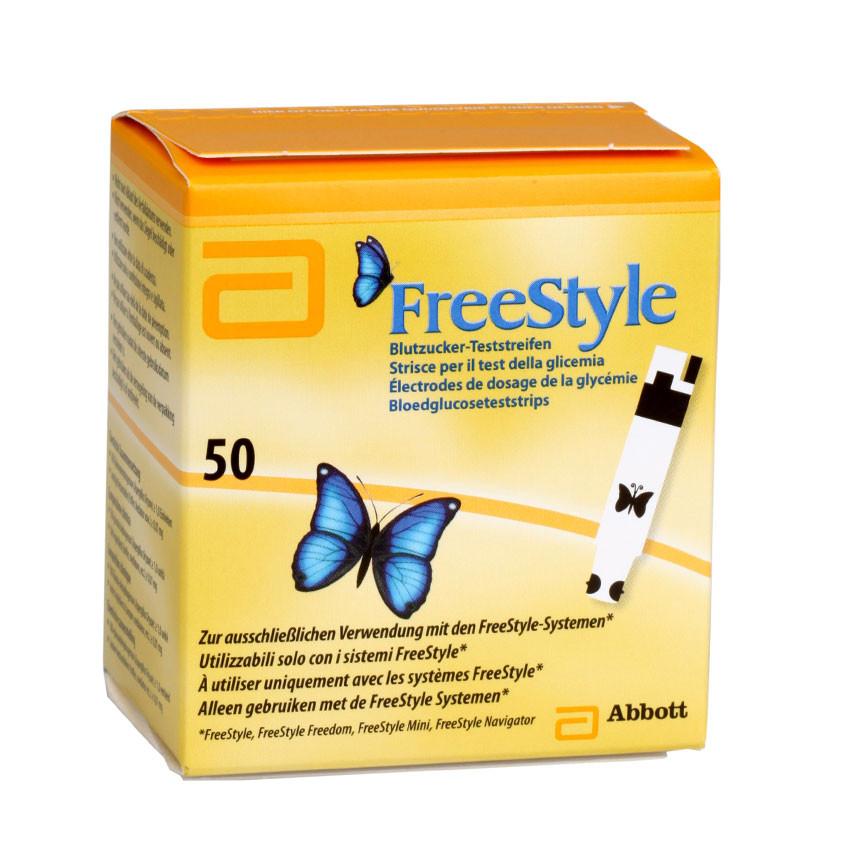 Freestyle Blutzuckerteststreifen, 50 Stück