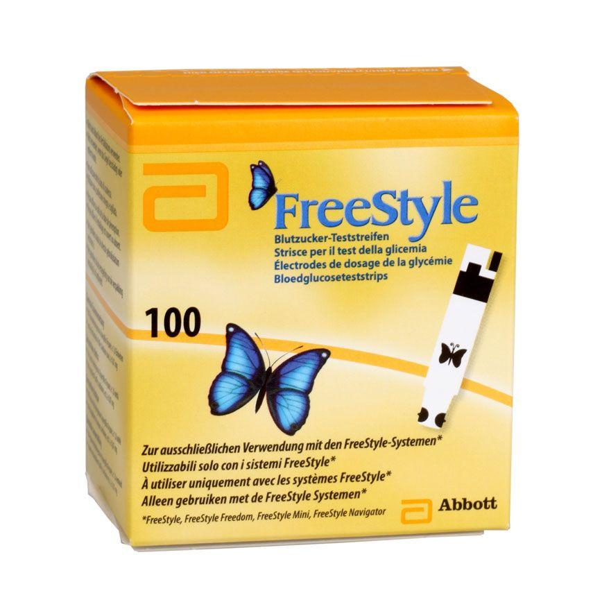 Freestyle Blutzuckerteststreifen, 100 Stück
