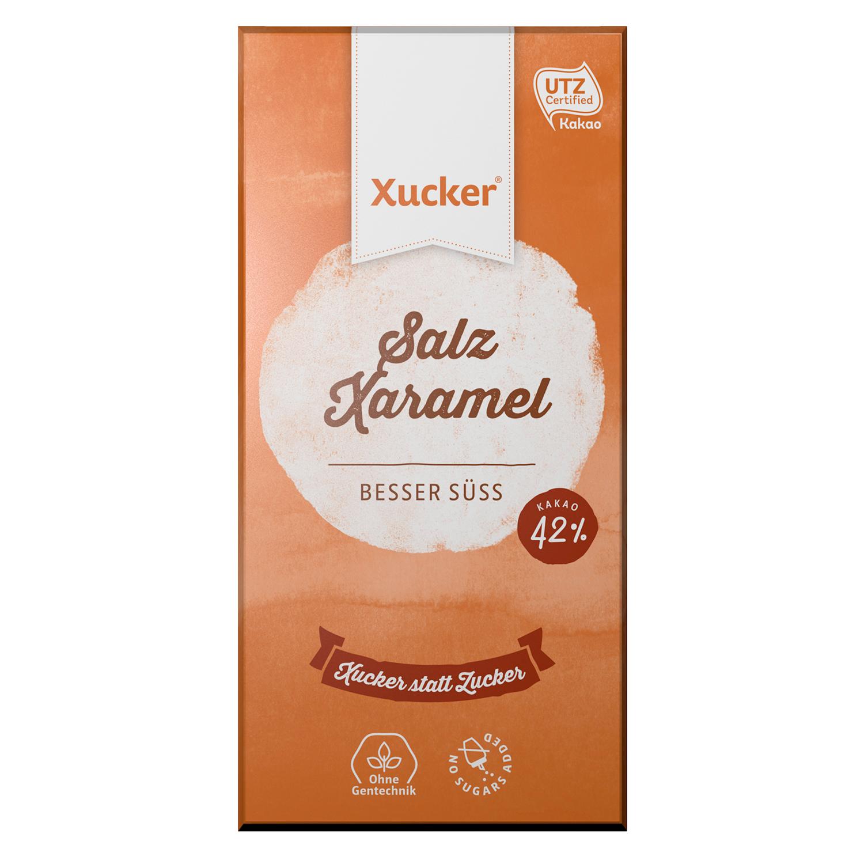 XUCKER Salz-Xaramell Schokolade mit Xylit