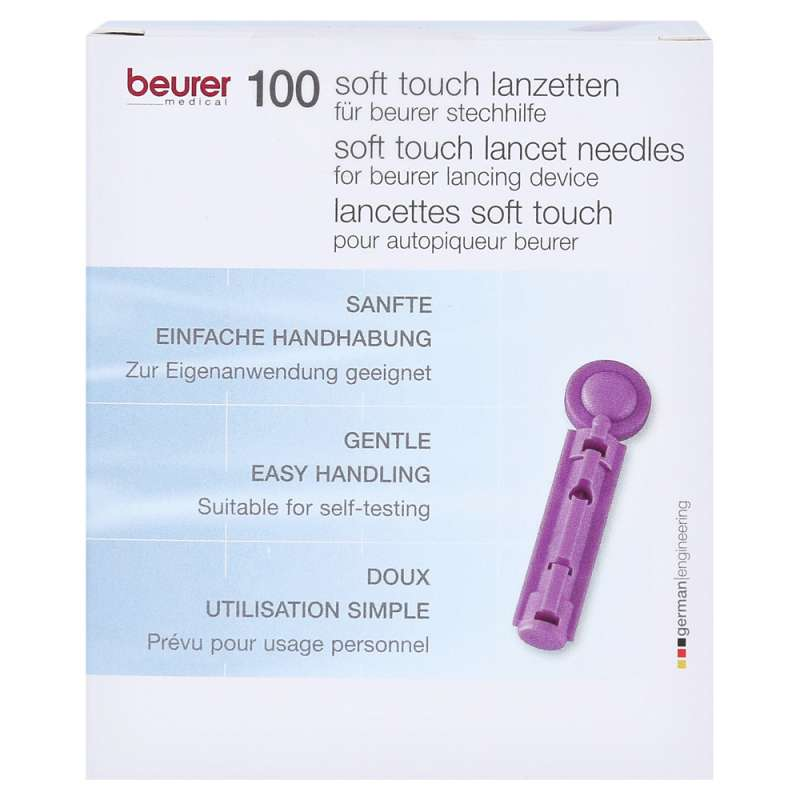 beurer Lanzetten soft touch 33G - 100 Stück