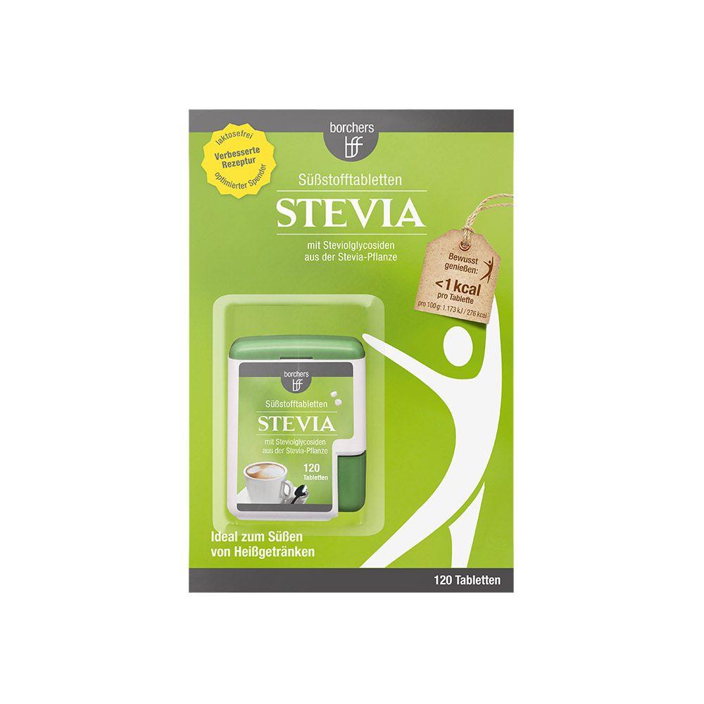 Stevia Süßstofftabletten im praktischen Spender