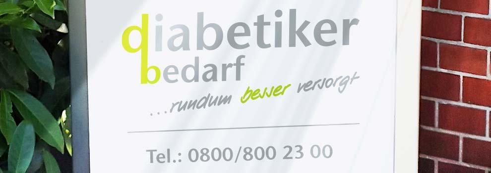 Banner Unternehmen Diabetikerbedarf