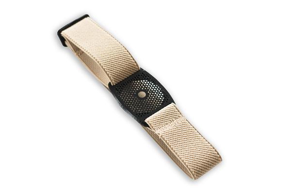 Freestyle Libre Fixierhalterung Gitter - 1 Stück, beige, Gr. M
