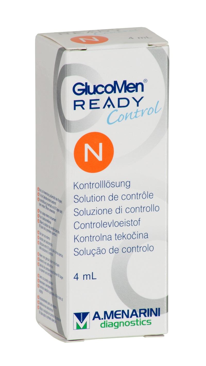 GlucoMen Ready Kontrolllösung, normal