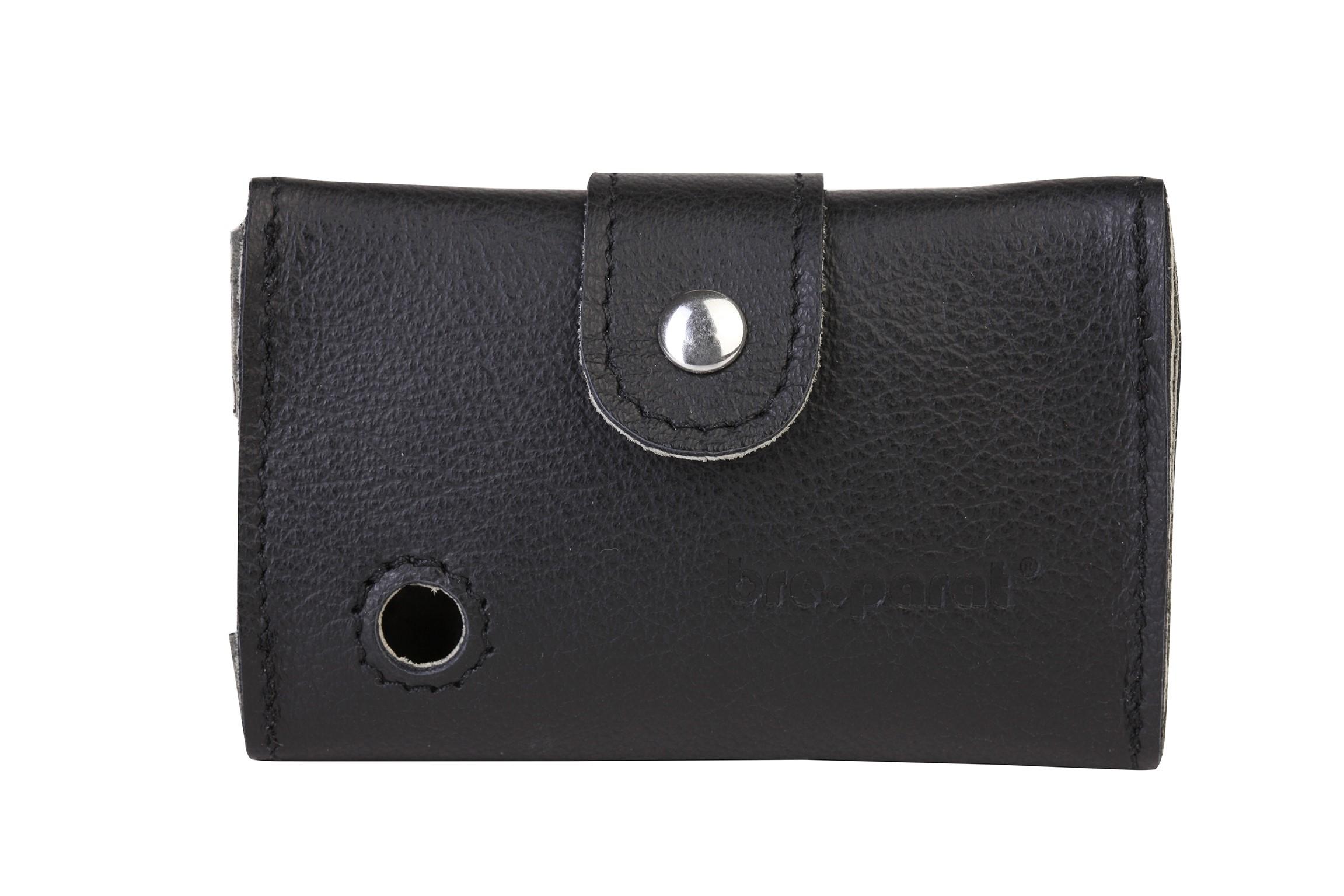 Dexcom G6 Ledertasche für Lesegerät, schwarz PZN 15391006
