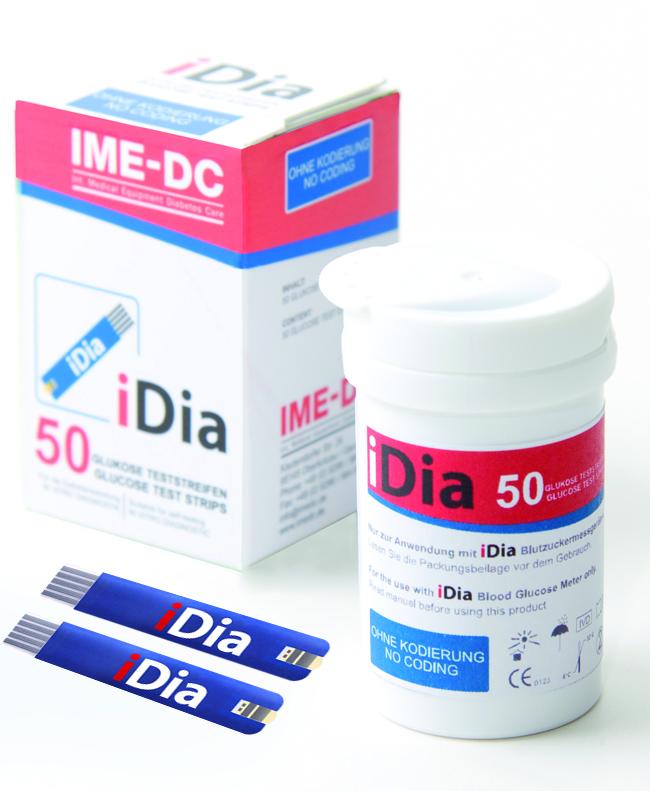 Teststreifen IME-DC iDIa