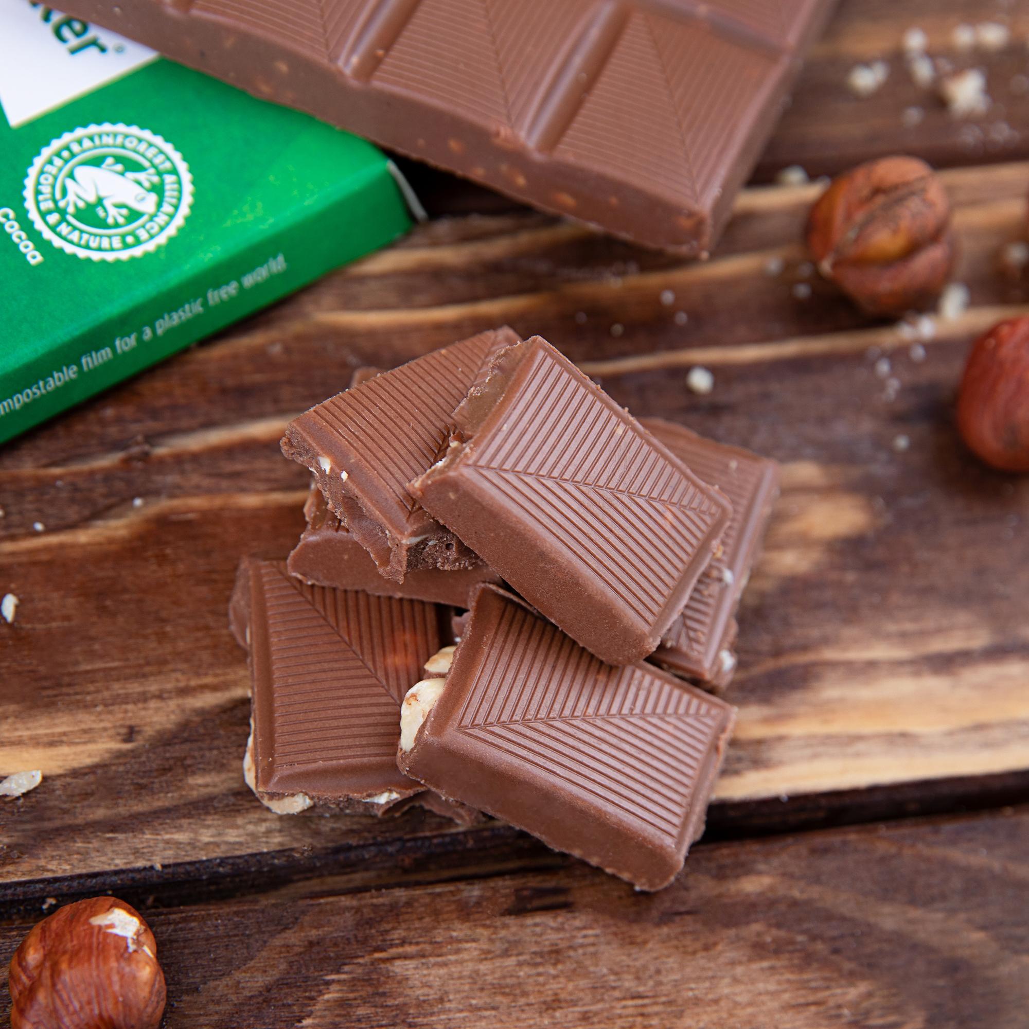 XUCKER Haselnuss-Schokolade mit Xylit