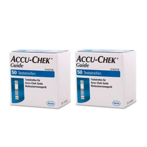 Accu-Chek Guide Blutzuckerteststreifen, 100 Stück