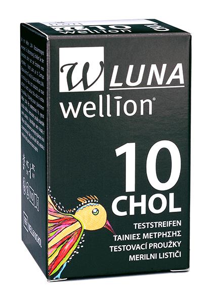 Wellion LUNA Cholesterin-Teststreifen, 5 Stück