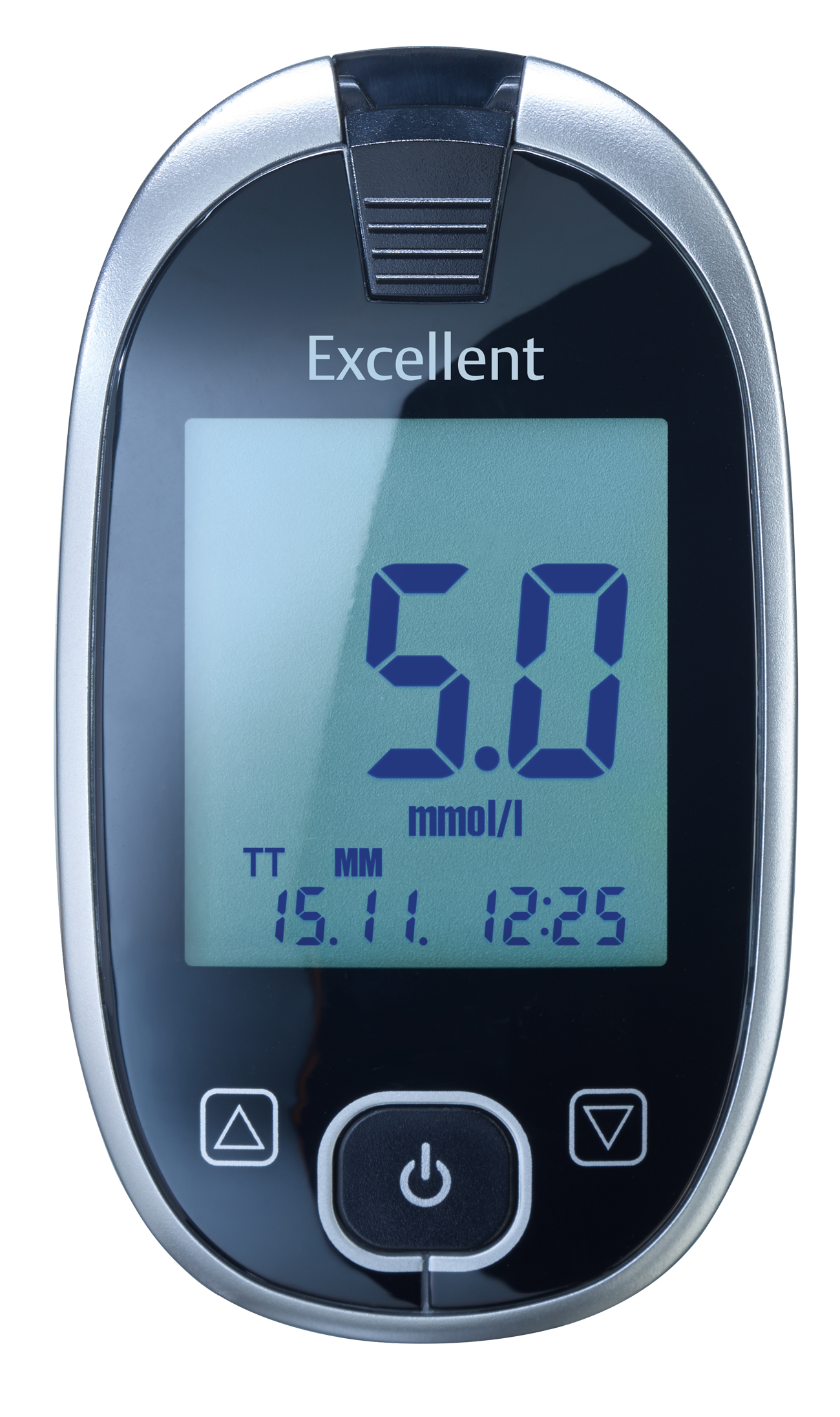 GlucoCheck Excellent Starter-Set mit 110 Blutzuckerteststreifen