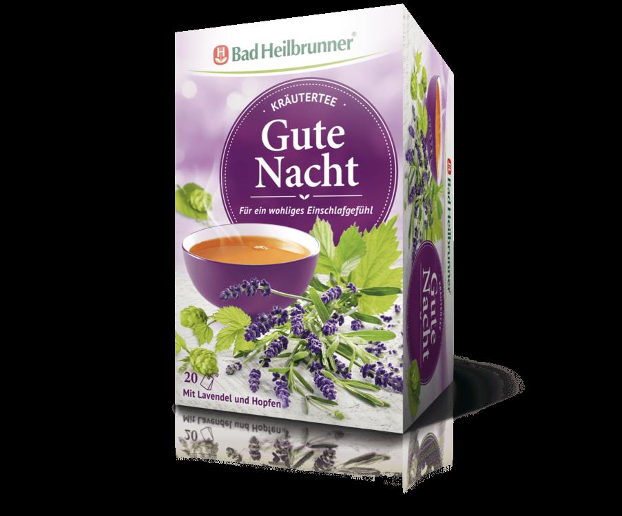 Bad Heilbrunner Gute Nacht Tee 20 Filterbeutel PZN 09782027