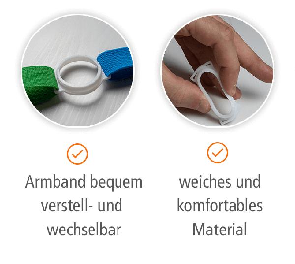 Omnipod Fixierband (transparent / flexibel), 1 Stück
