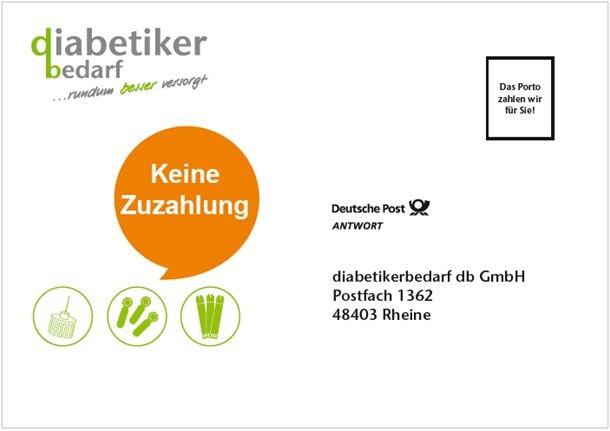 diabetikerbedarf db GmbH Freiumschlag