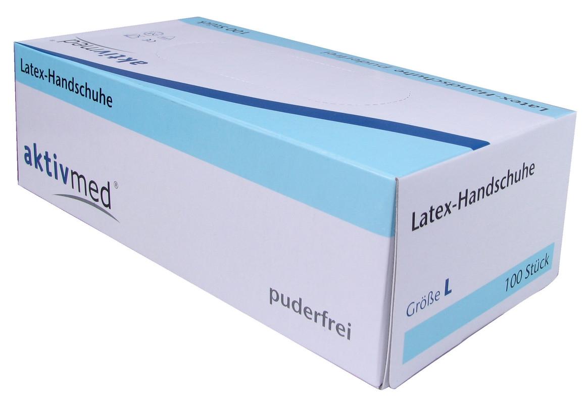 Latexhandschuhe, Gr. L, PZN 07646136