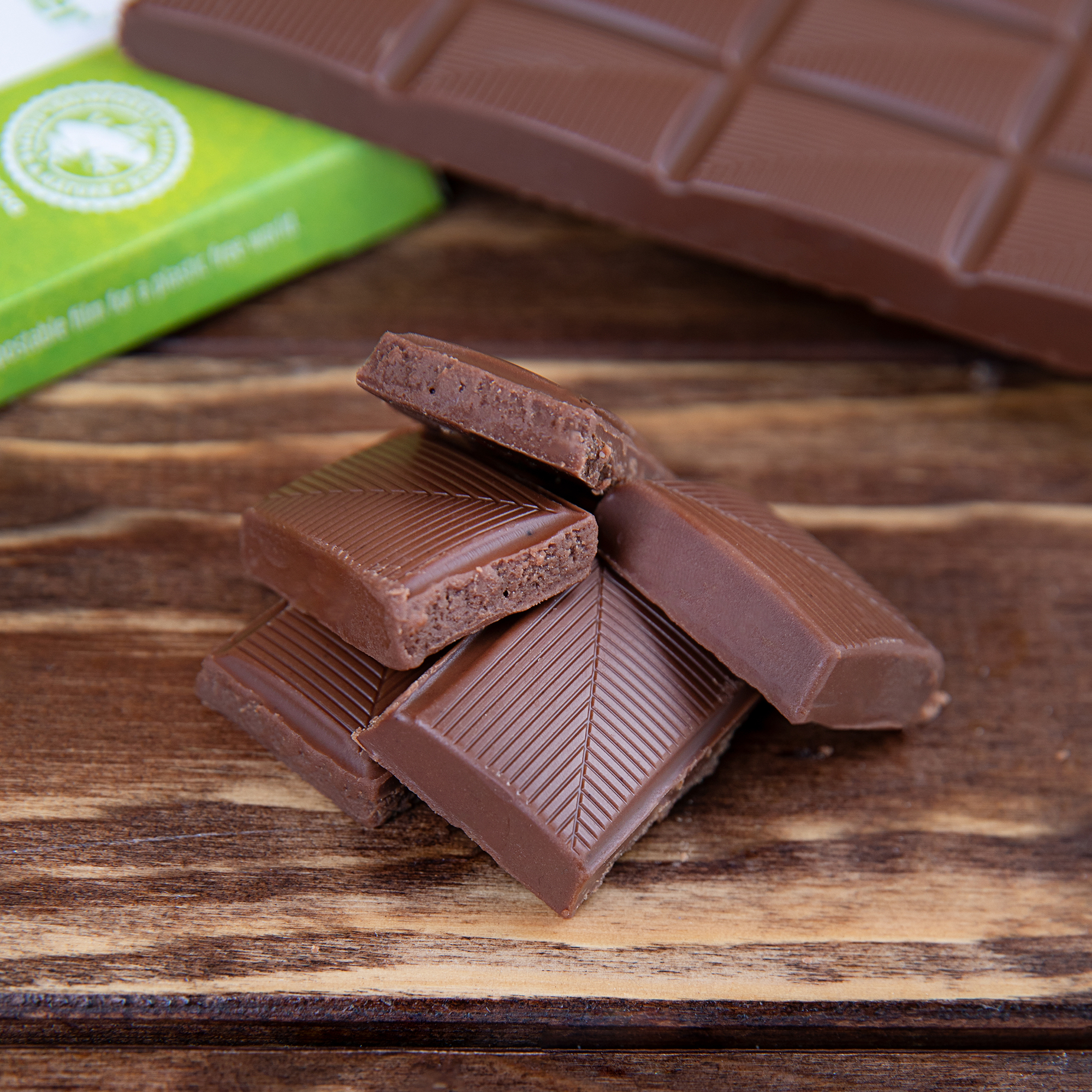 XUCKER Pure Vegane Schokoladenkuvertüre