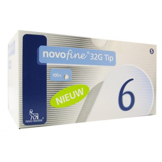 NovoFine Pennadeln 6mm PZN05049790