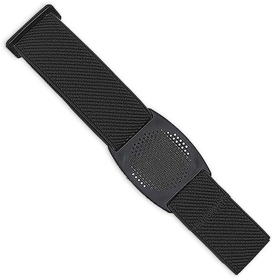 Freestyle Libre Fixierhalterung Gitter - 1 Stück, schwarz, Gr.L