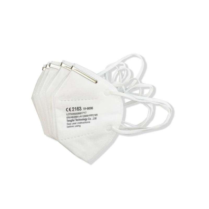 Clinicline FFP2 Atemschutzmaske mit Ohrschlaufen, 20 Stück