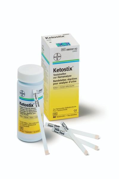 Ketostix Teststreifen