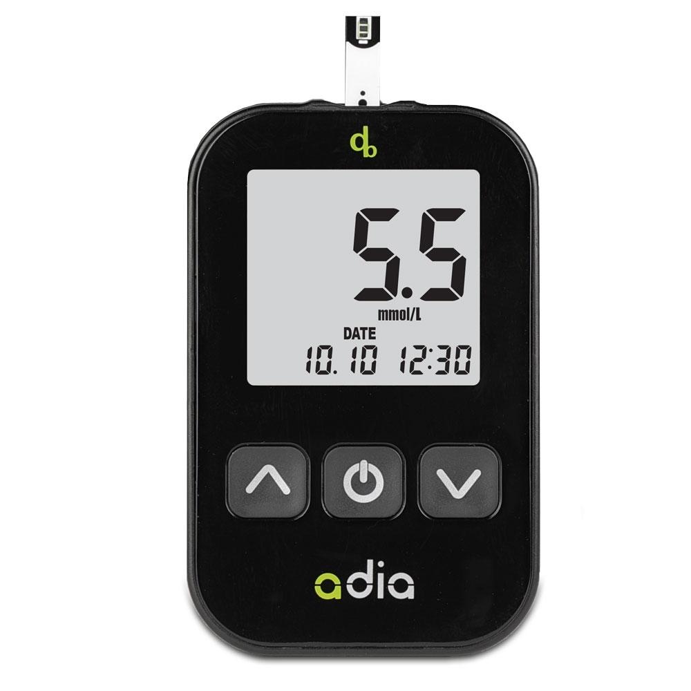 adia Blutzuckermessgerät Set mmol/l