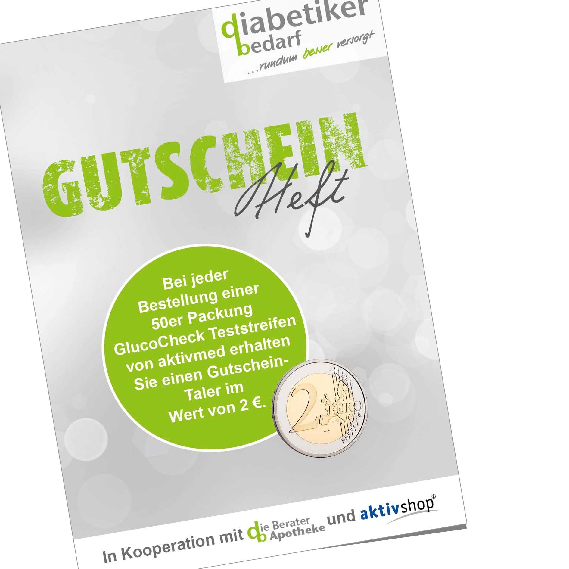 Icon Gutscheinheft diabetikerbedarf