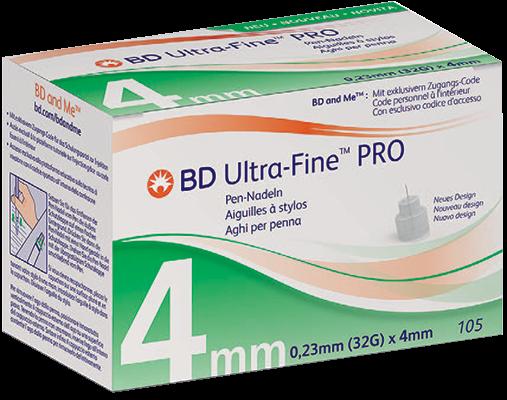 BD Ultra-Fine Pen-Nadeln, 5mm