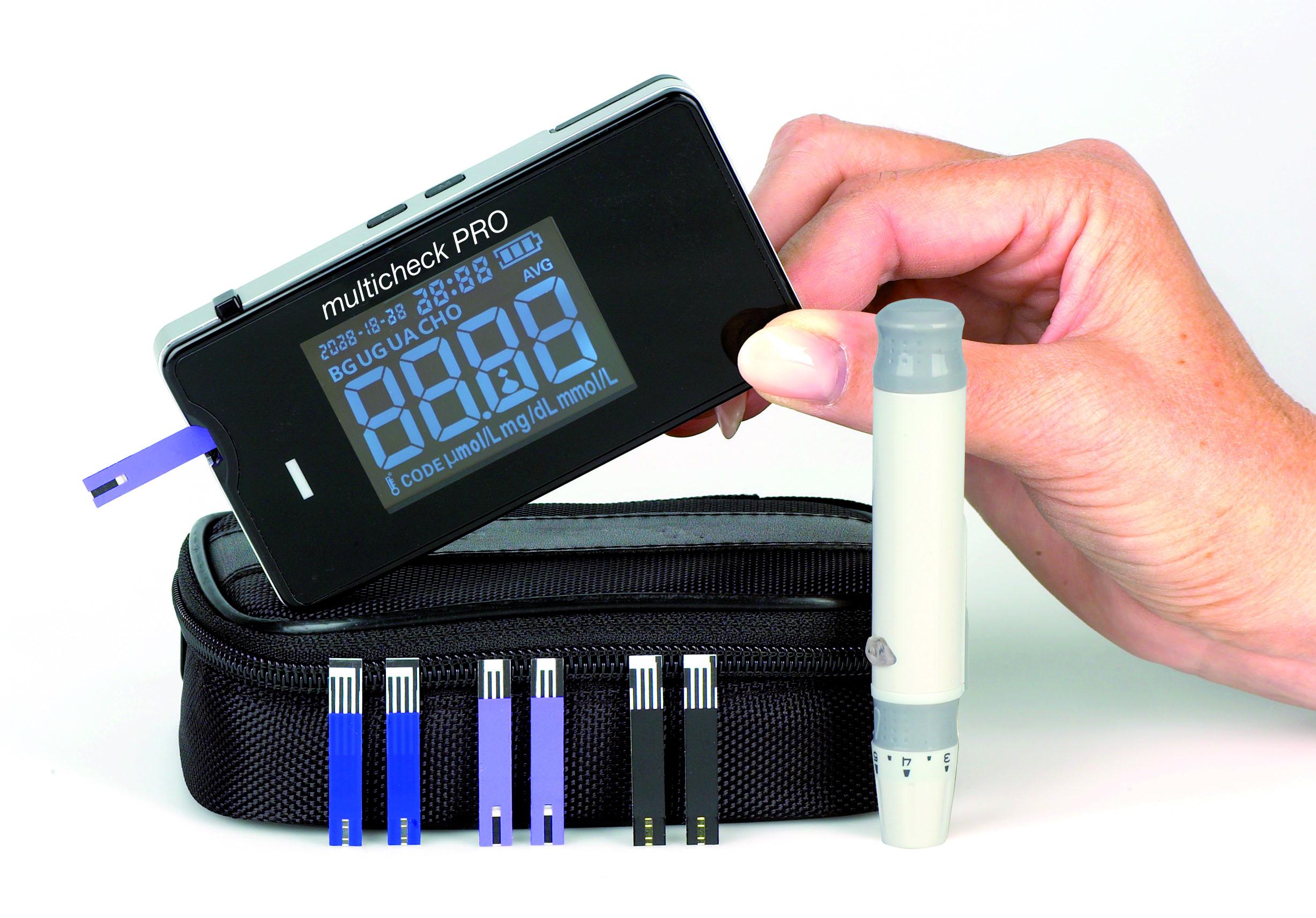 Multicheck PRO Harnsäure Sensoren, 25 Stück