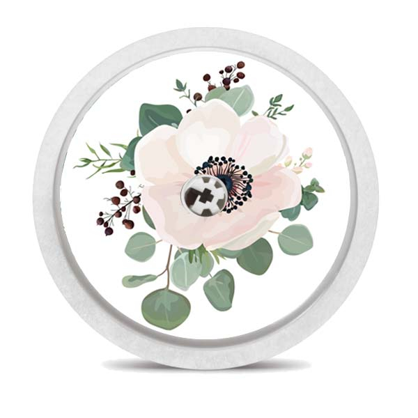 "FreeStyle Libre Sticker ""Floral"" - 6 Stück"